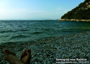 Samograd Bay nr Racisce - summer afternoon