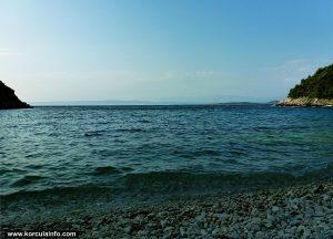 Views from Samograd Bay