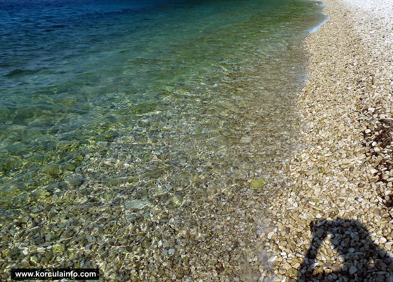 Seashore at Samograd Beach