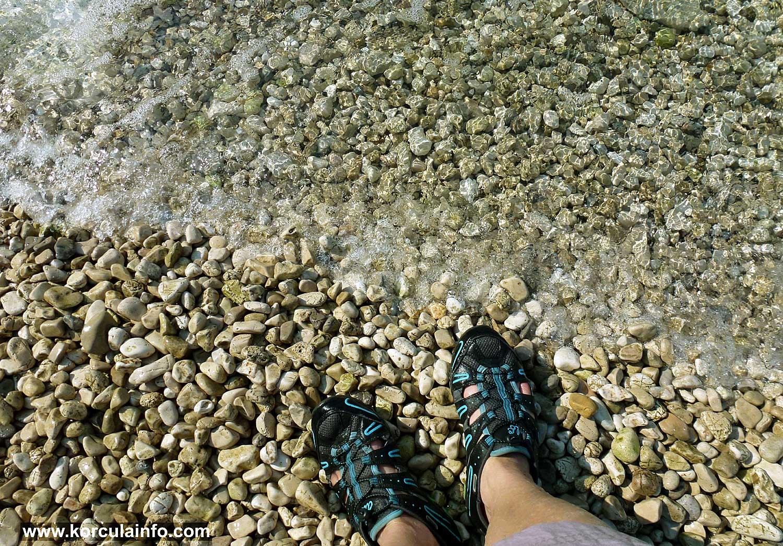 Pebbles at Samograd Beach