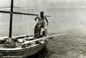 Sjor Nino Balarin i kerna - 1960