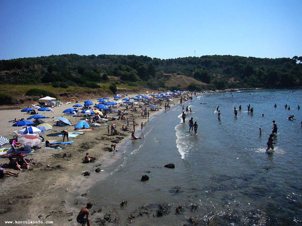 Busy Day at Vela Przina Beach