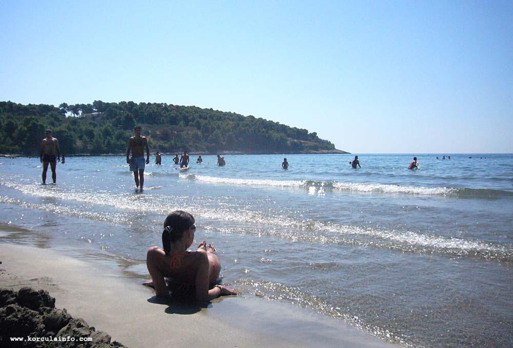 Sunbathing at Vela Przina