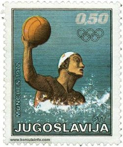 Water Polo Stamp 1972