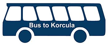 Bus Split to Korcula