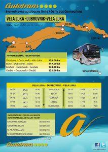 Bus Vela Luka - Korcula - Dubrovnik (2013)