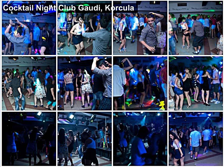 Cocktail Night Club Gaudi, Korcula