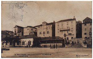 Hotel Korcula in 1911
