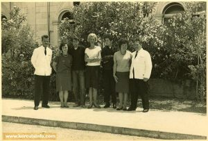 Hotel Korcula - staff in 1960s