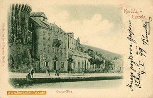 Hotel Korcula in 1899