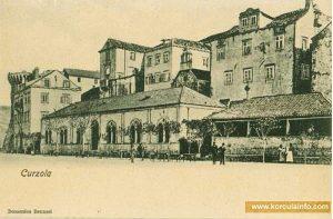 Hotel Korcula old postcard