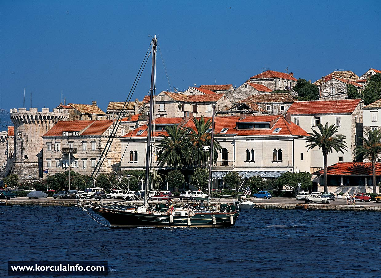 Hotel Korcula - the most recent photo (2000)