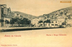 Hotel Korcula in late 1800s