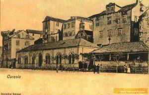 Hotel Korcula in 1873