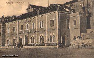 Hotel Korcula in 1912