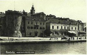 Hotel Korcula in 1960s