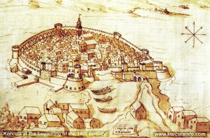 Korcula at the beginning of the 16th century