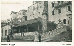 Loggia and Hotel Korcula 1890s