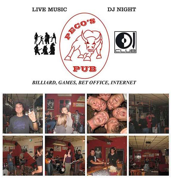 Peco's Pub in Korcula