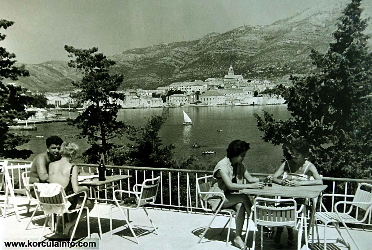 Hotel Park Korcula in 1960s