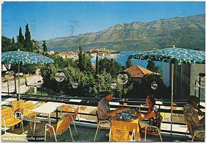 Hotel Park in Korcula 1970's