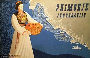 Primorje Travel Brochure from 1952