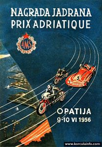 Prix Adriatique - Opatija 1956