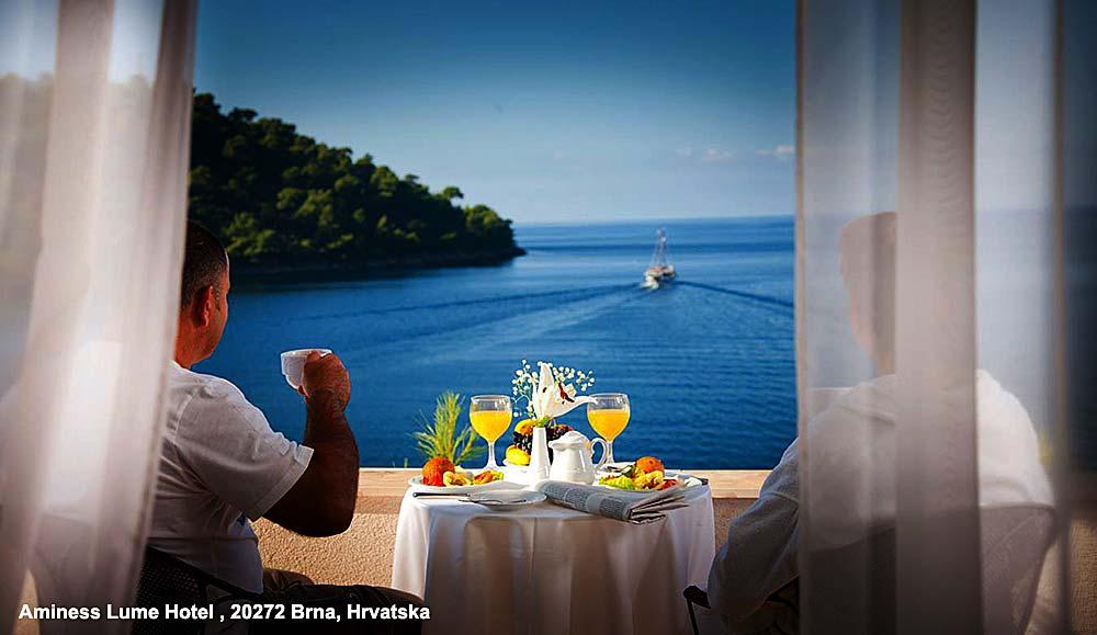 Aminess Lume Hotel - Brna, Korcula Island views
