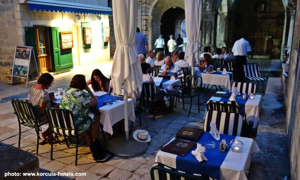 Restoran GRADSKI PODRUM, Korcula Old Town