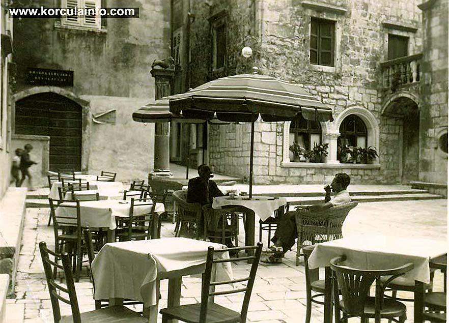 Restaurant 'Gradski Podrum' in 1930s