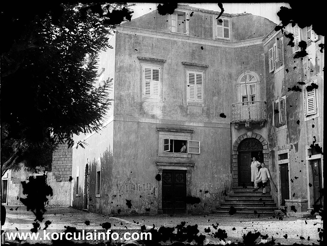 House of family Foretić, Korcula