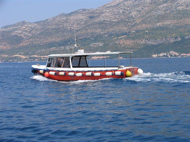 Roko - Korcula's Taxi Boat