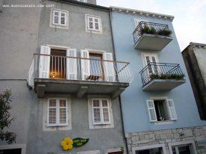 Balconies in Sveti NIkola