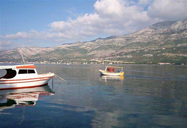 Boats in Sveti Nikola