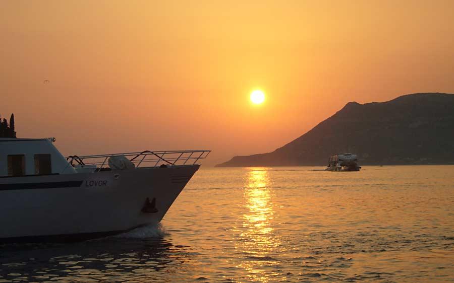 Ferry Catamaran Krilo Jet in Korcula port