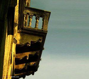 Balcony on Gabrielis Palace