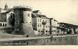 Hotel Korcula De La Ville in 1890s