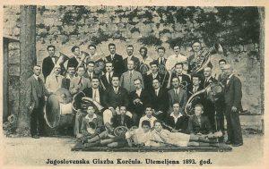 Jugoslovenska Glazba Korcula utemeljena 1893
