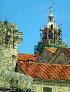 Restoring Bell Tower @ St Marks Catherdal