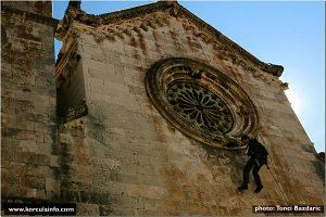 Climbing @ Korcula Old Town