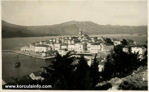 Panorama Korcula (1920s)