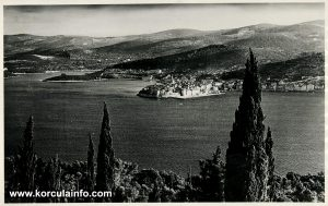 Old town - views from Peljesac (1900s)