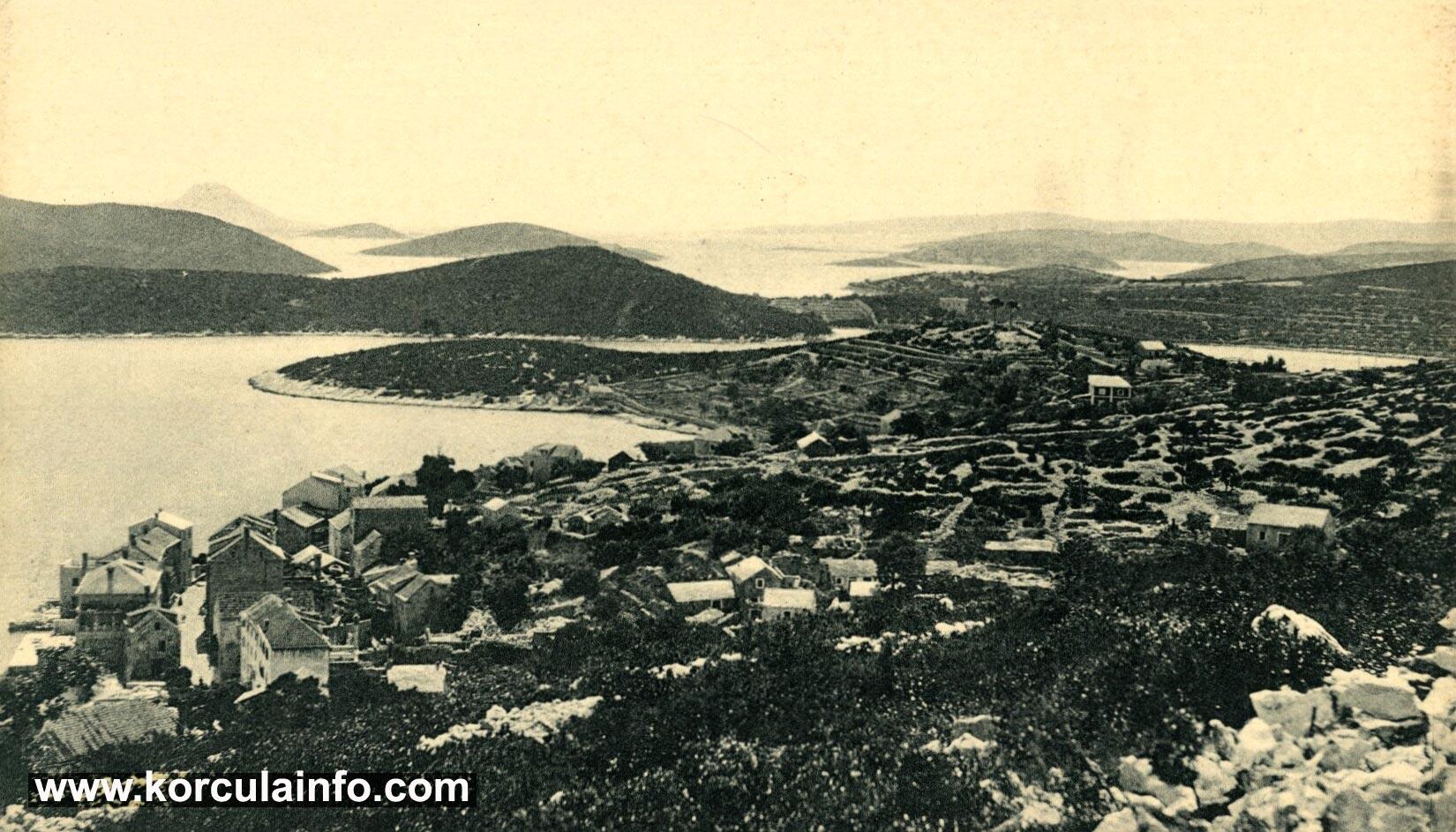 Panorama Borak from Forteca (1900s)