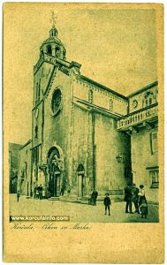 St.Mark's Cathedral - print from 1900's