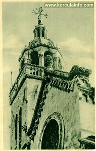St.Mark's Cathedral - Tower - print from 1920's