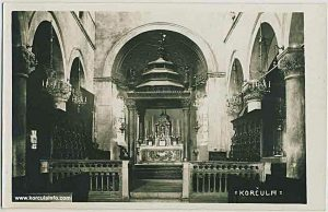 Altar at St.Mark's Cathedral (1950s)