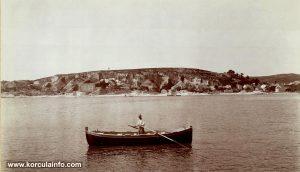 Stone quiries @ Vrnik - Panorama from 1900s