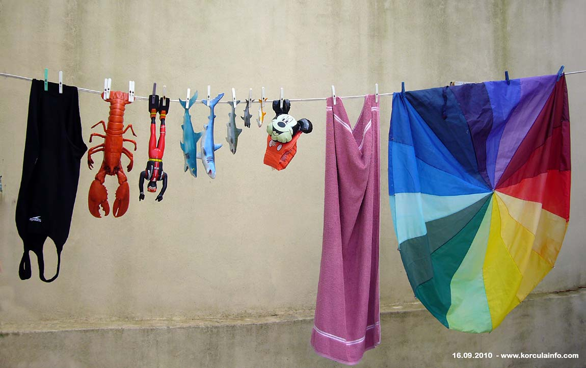 Jolly washing line