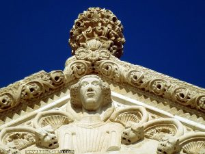 Detail - St Mark's cathedral, Korcula