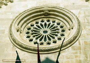 Roseta (Rose) @ Katedrala Svetog Marka, Korcula